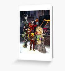 Muppet Christmas carol  Greeting Card