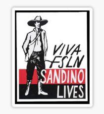 Sandino Lives! Sticker