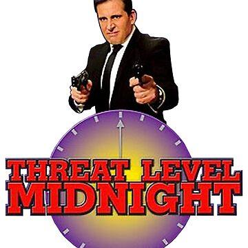 Threat level midnight  by astralfeather