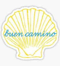 buen camino de santiago Sticker