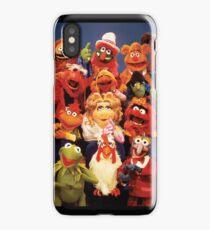 Muppets cast  iPhone Case/Skin