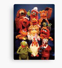 Muppets cast  Canvas Print