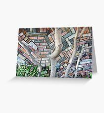 Trunks and Bricks Greeting Card