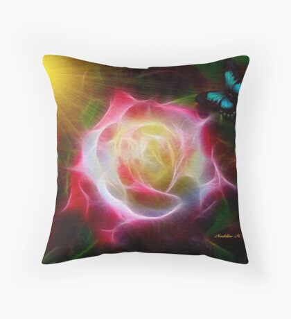 ~ THE PRINCESS ROSE ~ Throw Pillow