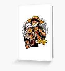 Pirate Alliance  Greeting Card