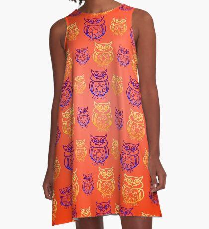 Owl Nation A-Line Dress