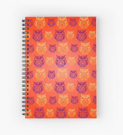 Owl Nation Spiral Notebook