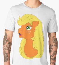 G1 my little pony applejack Men's Premium T-Shirt