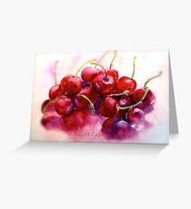 Cherries...Ripe Greeting Card