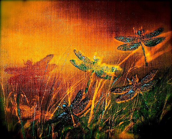 Dragonfly...Towards The Light  by ©Janis Zroback