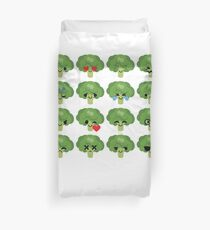 Broccoli Emoji   Duvet Cover