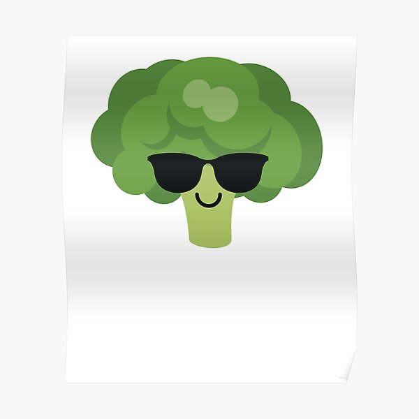 Broccoli Emoji   Poster