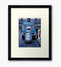 Dalek Carnival [FluxLimbo] Framed Print