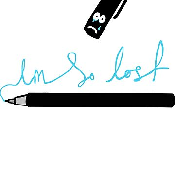 Lost your pen? by Lars