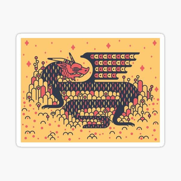 Little Dragon Boi Sticker