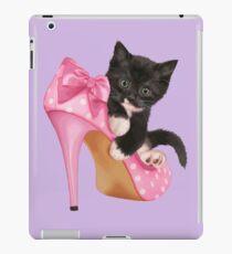 Cute Kitten with Shoe iPad Case/Skin