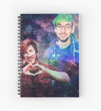 Mark & Jack in the Galaxy! Spiral Notebook