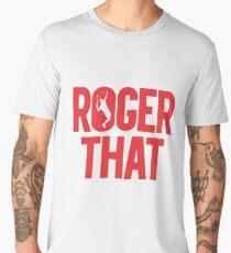 Roger That - Roger Federer Men's Premium T-Shirt