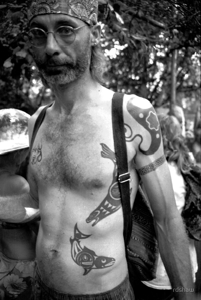 Man with Orca Tattoos by rdshaw