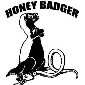 Honey badger - 2 by NewSignCreation
