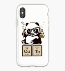 Chemistry panda discovered cute iPhone Case
