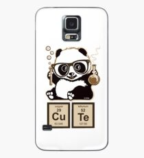 Chemistry panda discovered cute Case/Skin for Samsung Galaxy