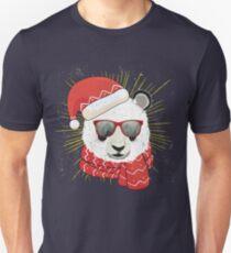 Funny Panda Christmas - Panda Bear Xmas  Unisex T-Shirt