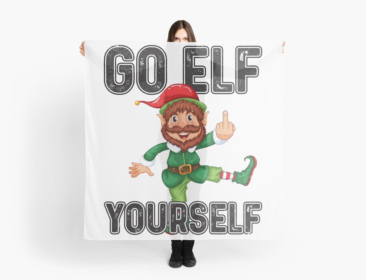 funny Christmas Elf \