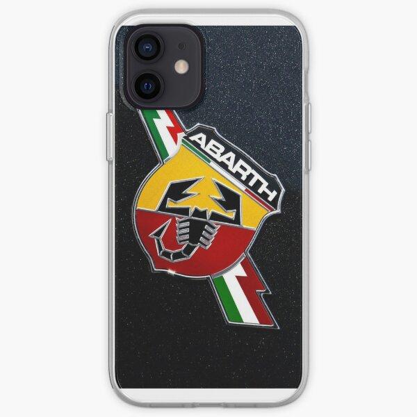 Fiat 500 Abarth Logo Coque souple iPhone