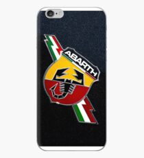 Vinilo o funda para iPhone Logotipo de Fiat 500 Abarth