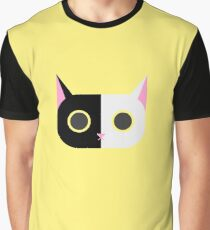 Cosmos Cat Graphic T-Shirt