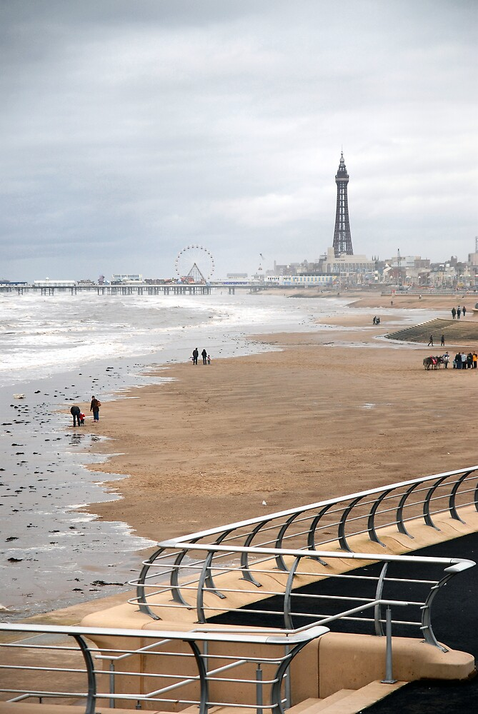 Blackpool in October by Jay Payne