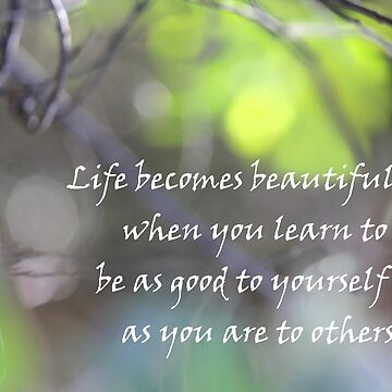 Life becomes beautiful..... by LifeisDelicious