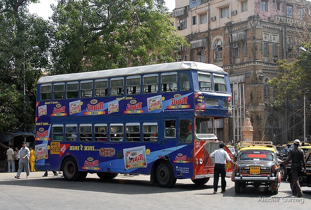 Mumbai Bus by Alisdair Gurney