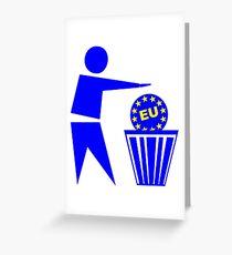 Europe Greeting Card