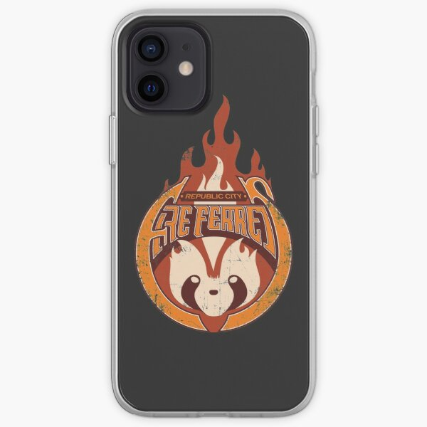 Vintage - Republic City Fire Ferrets iPhone Soft Case