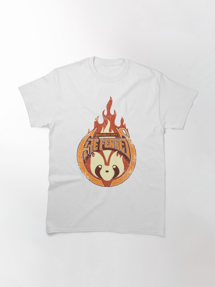 Alternate view of Vintage - Republic City Fire Ferrets Classic T-Shirt