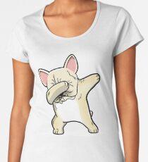 Funny Dabbing Cream French Bulldog Dog Women's Premium T-Shirt