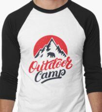 Outdoor Camp Men's Baseball ¾ T-Shirt