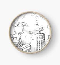Inktober day 5 - Public transportation Clock