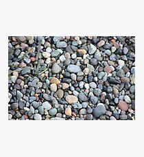 Rocky Beach, Deception Point, Washington Photographic Print