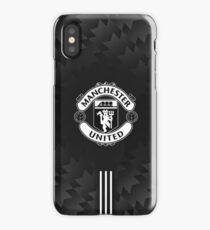 manchester united black elegan iPhone Case/Skin