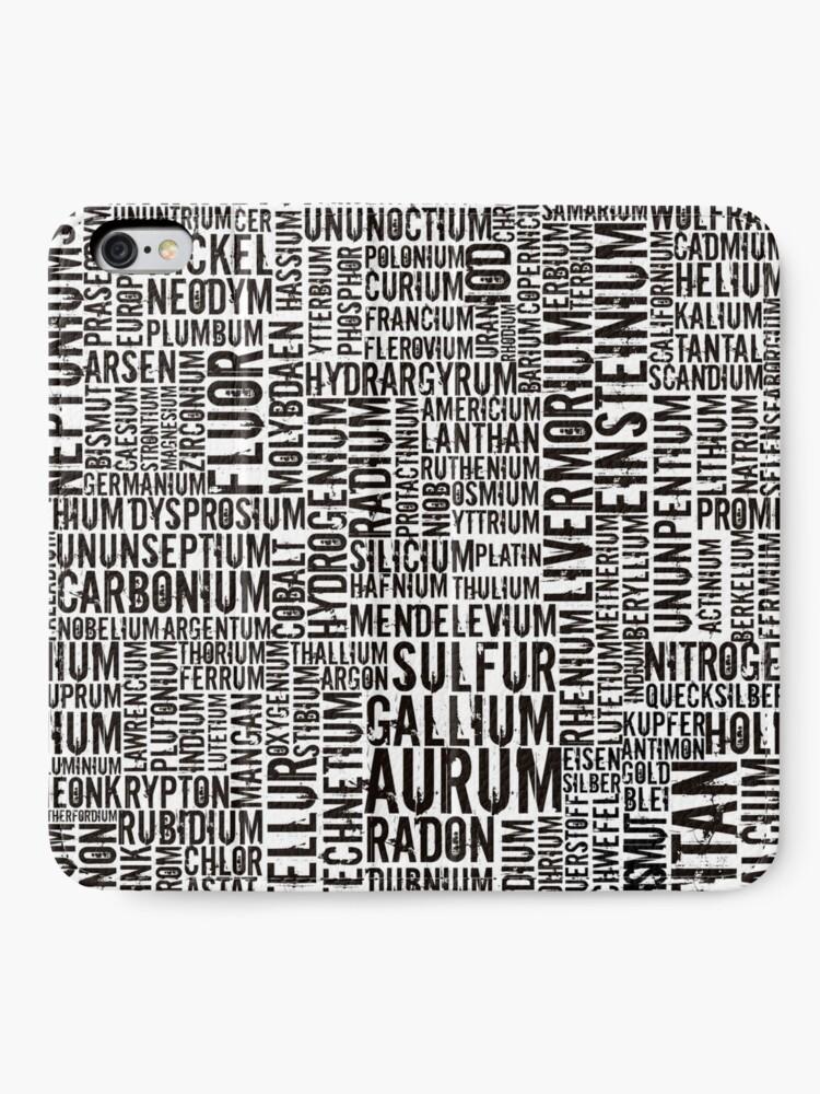Alternative Ansicht von Chemical Elements iPhone Flip-Case