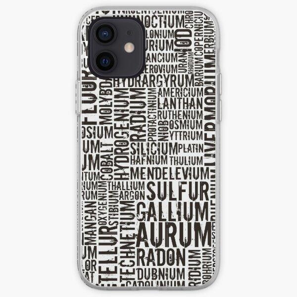 Chemical Elements iPhone Flexible Hülle