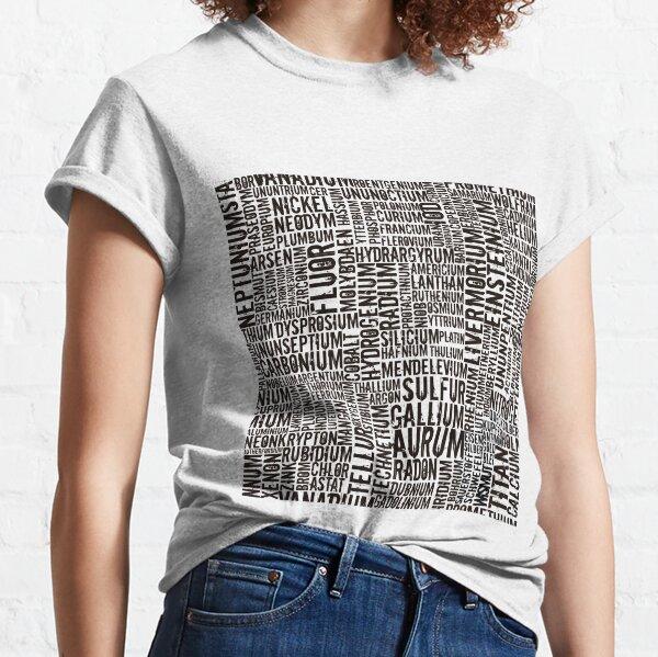 Chemical Elements Classic T-Shirt