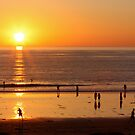 Pacific Beach Sunset by Jan  Wall