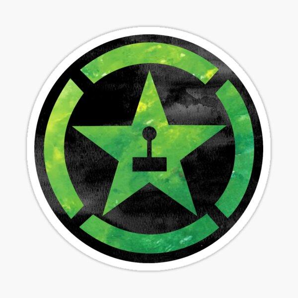 Achievement Hunter Watercolour Logo Sticker