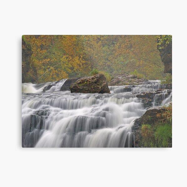 Willow River Falls Metal Print