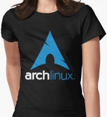 Arch Linux Women's Fitted T-Shirt