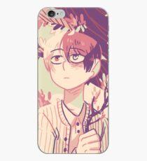 Todoroki with Flowers iPhone Case
